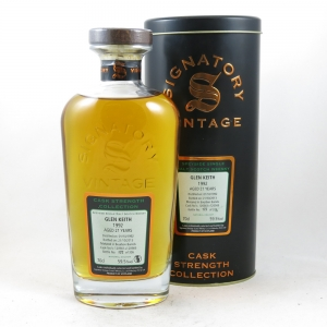 Glen Keith 1992 Signatory Vintage 21 Year Old front