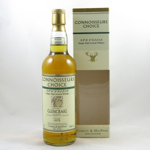 Glencraig 1975 Gordon and Macphail 25 Year Old front