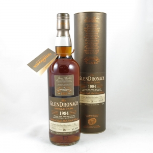 Glendronach 1994 Single Cask 18 Year Old front