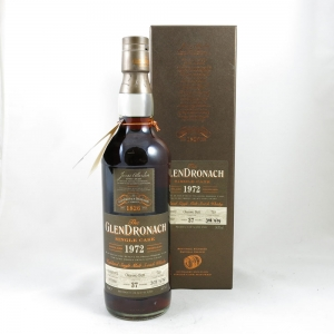 Glendronach 1972 Single Cask 37 Year Old front