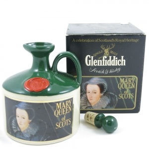 Glenfiddich Mary Queen of Scots Stoneware Decanter Front