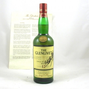 Glenlivet 12 Year Old (The Water of Life Challenge Bottles) Front