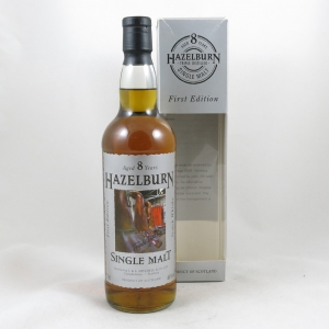 Hazelburn 8 Year Old First Edition 'The Stills' front