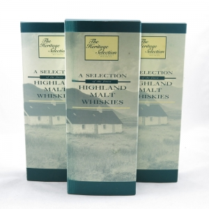 The Heritage Selection (4x5cl) - Three Sets boxes