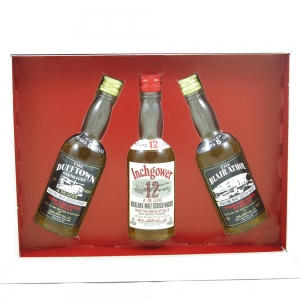 Bell's Three Distinctive Highland Malts (Dufftown-Glenlivet, Blair Athol and Inchgower) 3 x 5cl front
