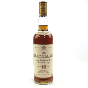 *Macallan 10 Year Old 1980s