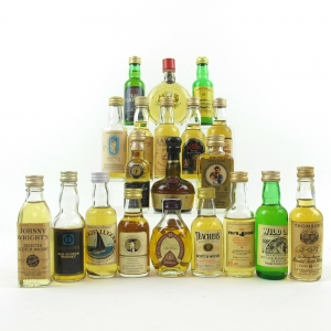 Miscellaneous Blended Miniature Selection 20 x 5cl