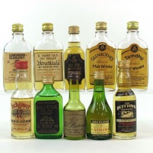 Miscellaneous Speyside Malt Miniature Selection 10 x 5cl