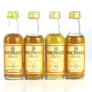 MacPhail's 1960's Pure Malt Miniature Selection 4 x 5cl