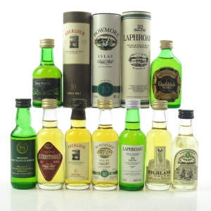 Miscellaneous Single Malt Selection 9 x 5cl