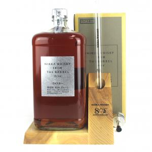 Nikka Whisky From The Barrel 3 Litre / 80th Anniversary Gift Set