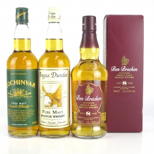Scotch Malt Whisky Selection 3 x 70cl