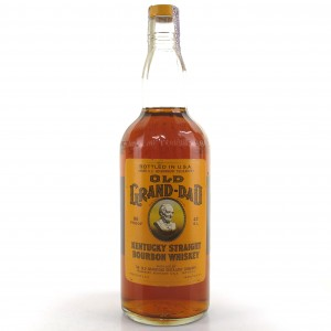 Old Grand-Dad Kentucky Straight Bourbon 1970s