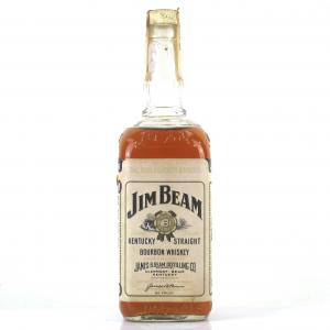 Jim Beam Kentucky Straight Bourbon 1970s