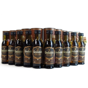 Glenfiddich 18 Year Old Miniature Collection 10 x 5cl