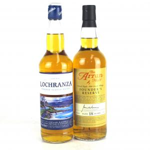 Arran Founder's Reserve 18 Year Old & Lochranza Blend 2 x 70cl