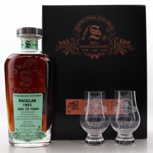 Macallan 1993 Signatory Vintage 25 Year Old Single Cask #13/1 / 30th Anniversary