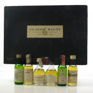 Classic Malt Miniature Gift Set 6 x 5cl