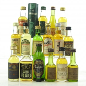 Miscellaneous Speyside Minature Selection 16 x 5cl