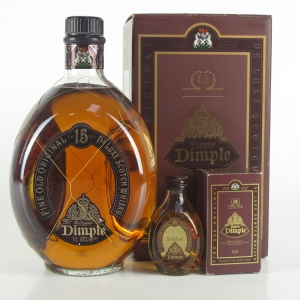 Dimple 15 Year Old 1 Litre / includes Miniature 5cl