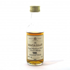 Macallan 1965 5cl Miniature / Bottled 1983