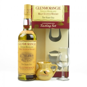 Glenmorangie 10 Year Old Connoisseur's Tasting Set / Including Glass and Jug