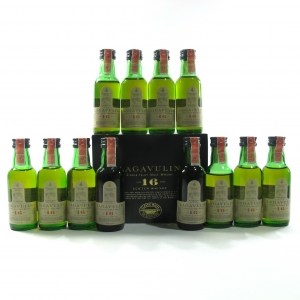 Lagavulin 16 Year Old Distillers Miniature 12 x 5cl / Case