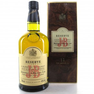 J&B 15 Year Old Reserve 75cl / Mexican Import