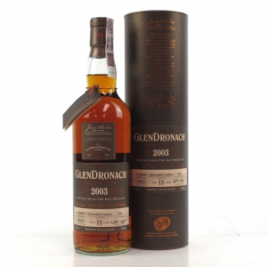 Glendronach 2003 Single Cask 13 Year Old #5480