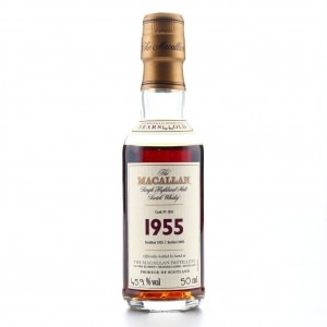 Macallan 1955 Fine and Rare 46 Year Old #1851 Miniature
