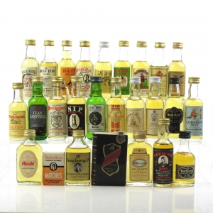 Miscellaneous Blended Miniature Selection 26 x 5cl