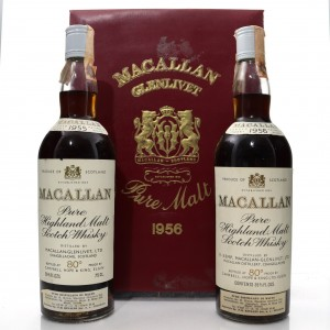 Macallan 1955 & 1956 Campbell, Hope and King - Rinaldi Import / 2 x 75cl