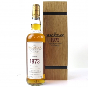 *CHECK DETAILS Macallan 1973 Fine and Rare