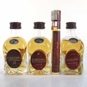 Cardhu Miniature Collection 2cl and 3 x 5cl