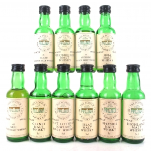 SMWS Miniature Selection 10 x 5cl