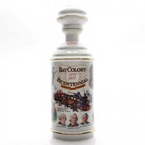 Old Rip Van Winkle 7 Year Old Decanter 1975 / Bay Colony Bicentennial