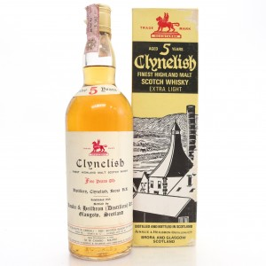 Clynelish 5 Year Old Ainslie and Heilbron 1970s / Di Chiano Import