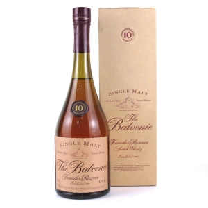 Balvenie 10 Year Old Founder's Reserve Cognac Bottle 1 Litre