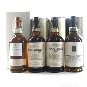 Kininvie / Hazelwood Collection 4 x 70cl