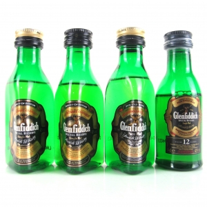 Glenfiddich Miniature Selection 4 x 5cl