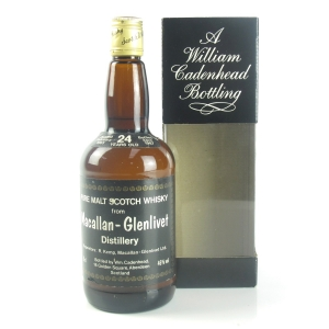 Macallan - Gelnlivet 1963 Cadenhead's 24 Year Old