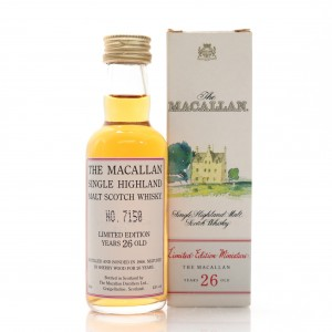 Macallan 1966 26 Year Old Miniature 5cl