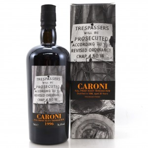 Caroni 1996 Velier 20 Year Old Heavy Full Proof
