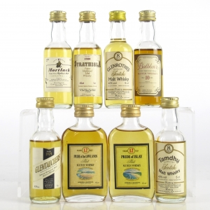 Miscellaneous Gordon and MacPhail Miniatures 8 x 5cl