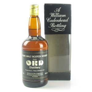 Glen Ord 1962 Cadenhead's 20 Year Old