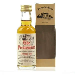 Bowmore 1972 Prestonfield House 16 Year Old 5cl