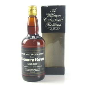Glenury Royal 1966 Cadenhead's 13 Year Old