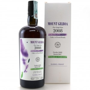 Mount Gilboa 2008 Pure Single Rum 9 Year Old / Velier 70th Anniversary