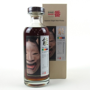 Karuizawa 1981 Noh Single Cask 31 Year Old #4676