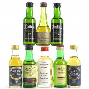 Miscellaneous Single Malt Miniature Selection 8 x 5cl